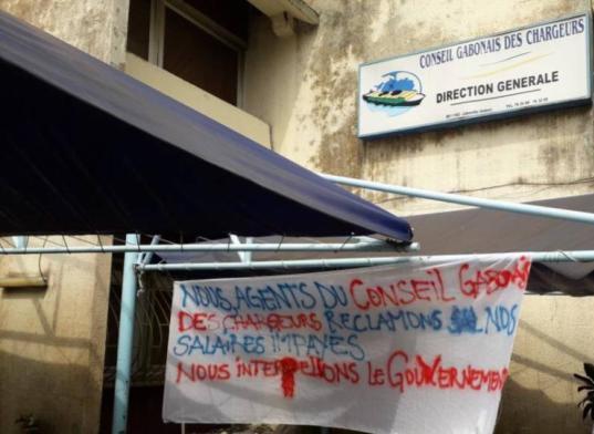 En grève pour deux mois d'arriérés de salaires,  250 agents du CGC passent à la caisse