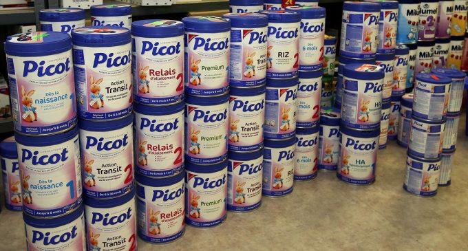 3600 boites de lait Picot retirées du marché au Gabon