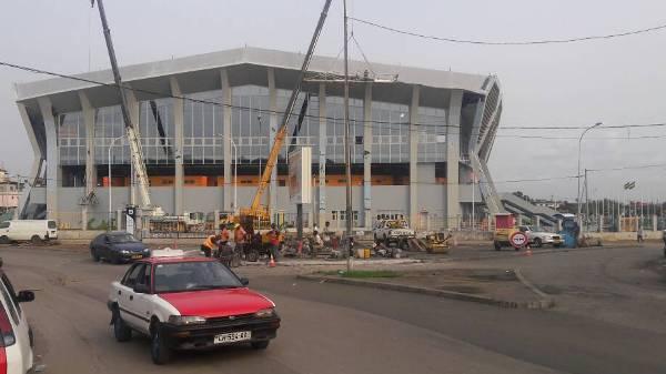 Le Palais des Sports de Libreville pourrait être inauguré ce week-end