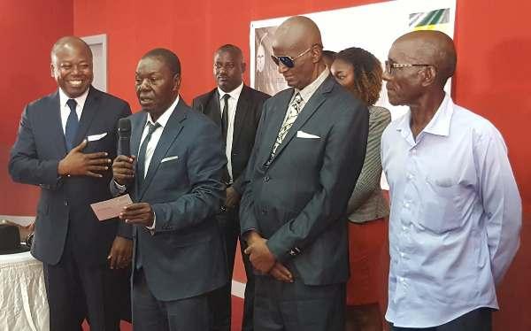 Emouvante cérémonie de remise des droits d'auteurs aux artistes gabonais