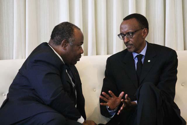 Gabon : Ali Bongo en mini-tournée au Rwanda, Angola, Congo Brazzaville et RDC