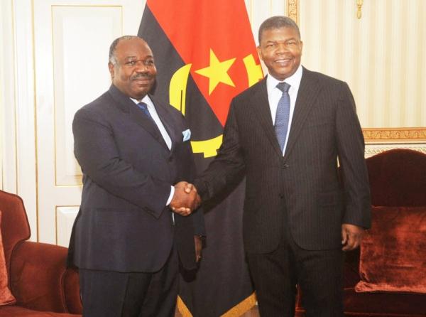 Ali Bongo chez l'angolais Lourenço, un des géants militaires de la CEEAC