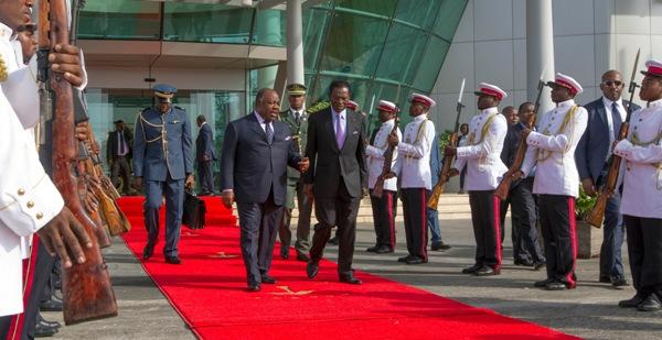 Ali Bongo et Obiang Nguema ont condamné toute tentative de déstabilisation dans la sous-région