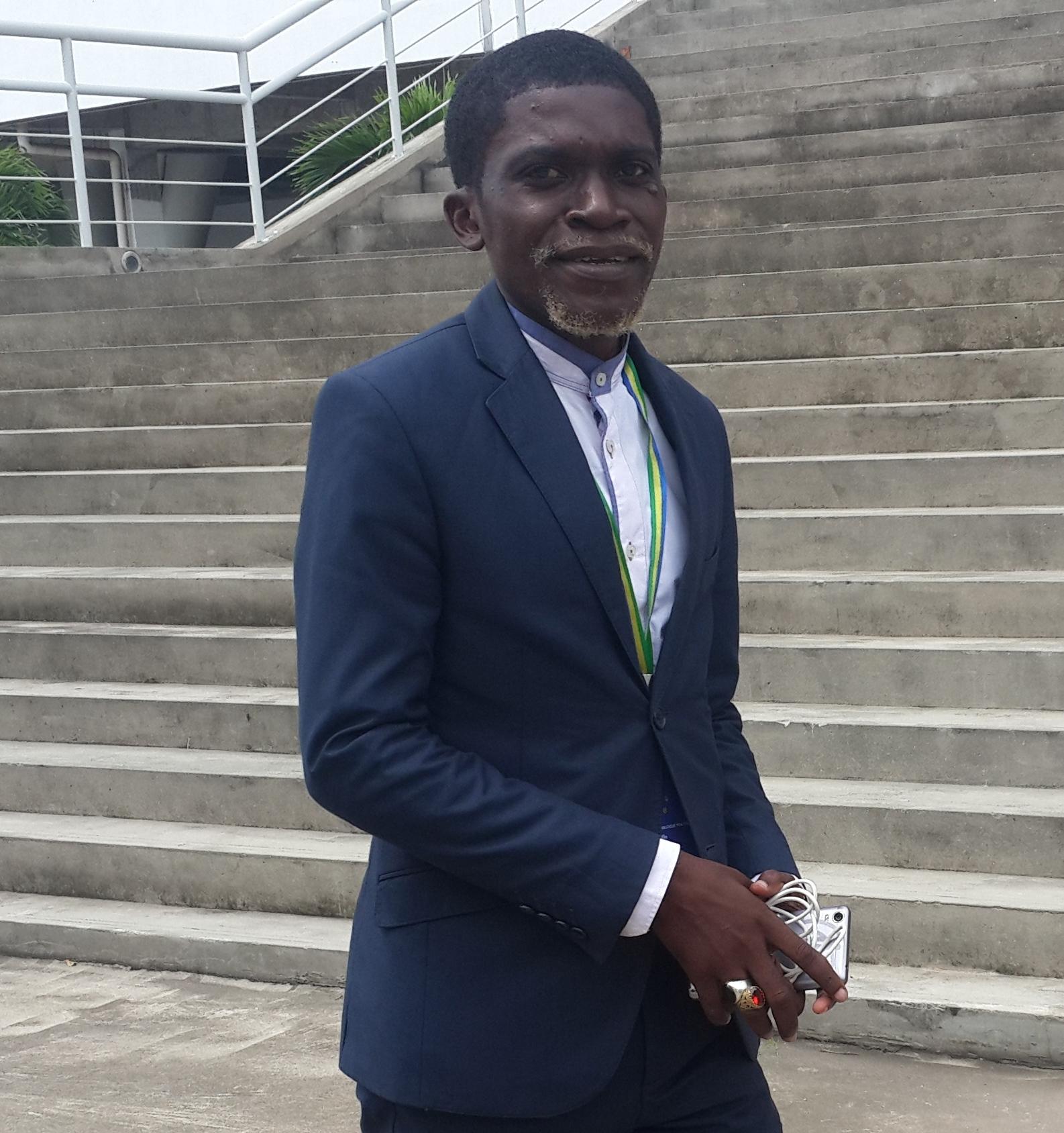 Karim Nziengui a réalisé son rêve d'être aux côtés d'Ali Bongo