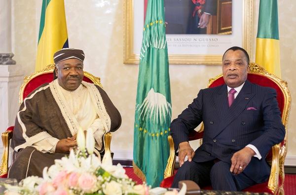 Ali Bongo et Sassou Nguesso invientent Kabila et Touadera de venir à Libreville le 6 mars