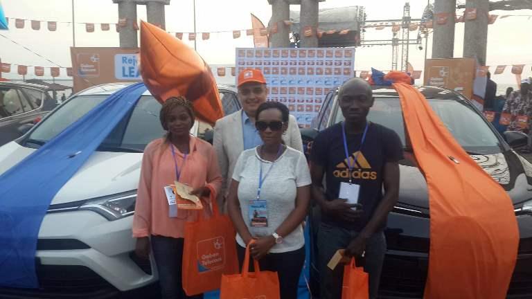 Super Tombola de Gabon Telecom : Trois heureux gagnants des véhicules RAV4