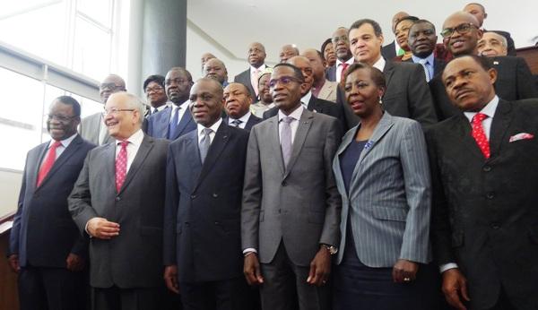 Ouverture de la 5èmeSession ordinaire du Conseil des Ministres du Conseil de Paix et de Sécurité de l'Afrique Centrale(COPAX)