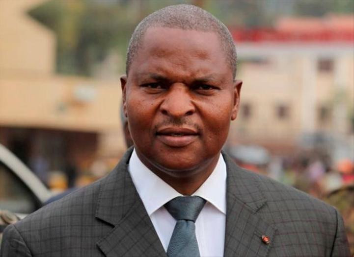 Le président centrafricain est arrivé à Libreville