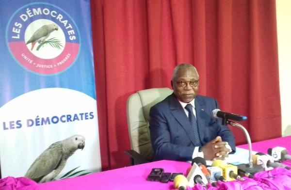 Le petit discours méprisant de Nzouba Ndama sur la Coalition de Jean Ping