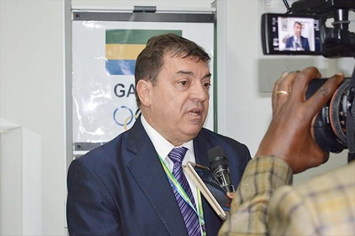 Léon-Louis Folquet réélu pour un 3ème mandat de 4 ans à la présidence du comité olympique gabonais