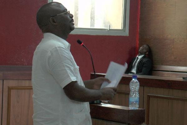 Les avocats de Blaise Wada dénoncent l'emprisonnement de leur client ce samedi
