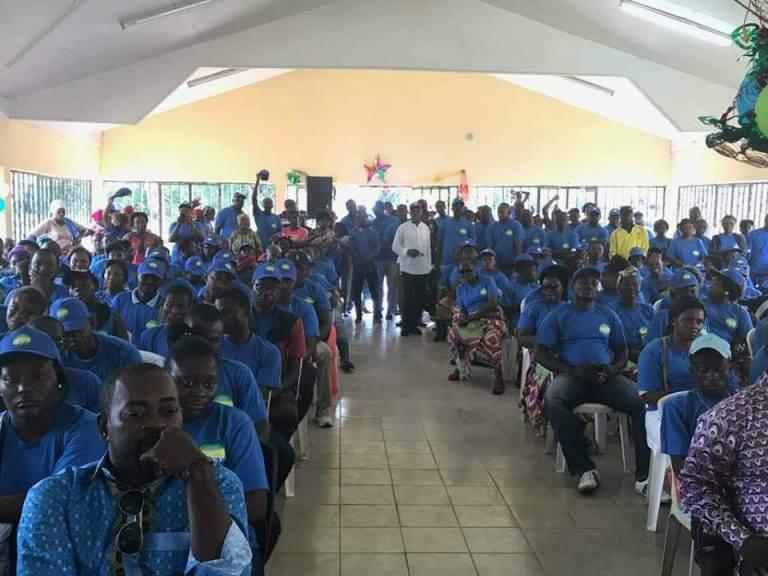 L'AJEV étend son ancrage dans le département de Lekabi-Lewolo