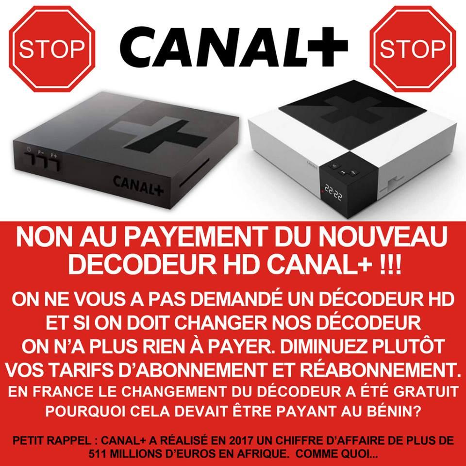 Vague de refus de payer le nouveau décodeur HD de Canal + au Gabon