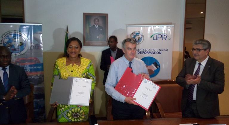Le CGC signe une convention avec l'UPR pour  former ses agents dans les domaines aérien et terrestre