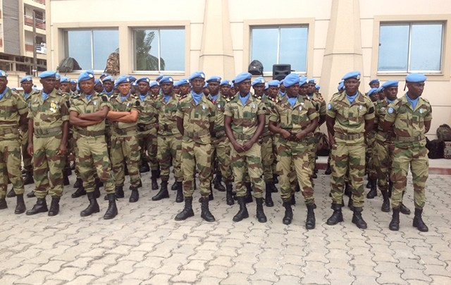 Retour de la paix en RCA : Le Gabon va procéder au retrait de ses militaires