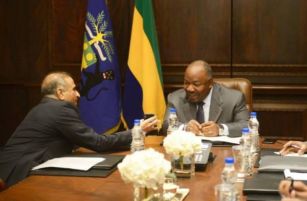 En Inde, Ali Bongo a reçu le patron d'Airtel, le plus grand employeur indien au Gabon