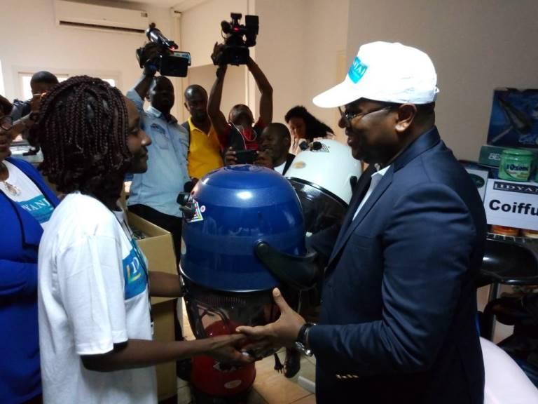 Projet IDYANJA : Des dizaines des jeunes ont bénéficié des financements pour des micro-projets à Port-Gentil