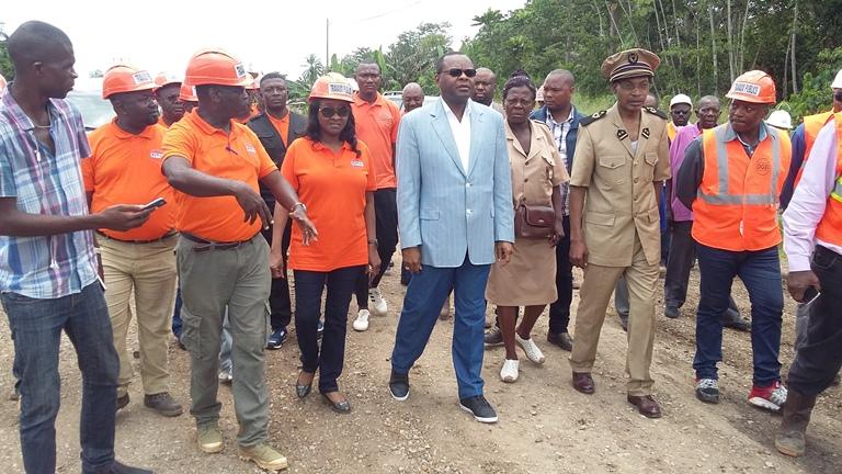 Les travaux d'aménagement de l'axe Ntoum-Pont Agoula à Kango démarrent dans un mois