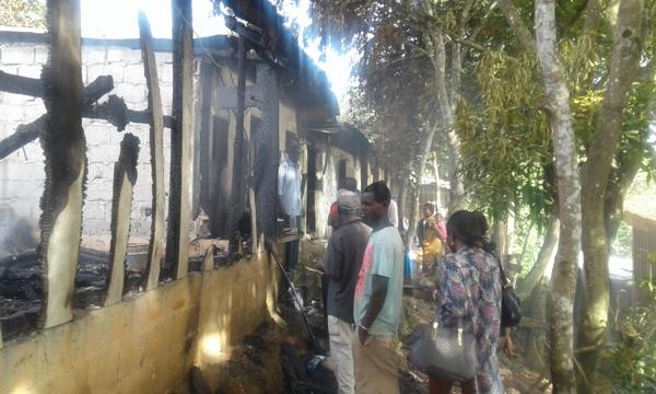 Un incendie fait de nombreux SDF dans un « mapane » à Franceville