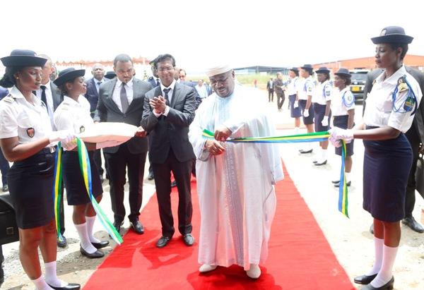 Nkok: mise en service d'une nouvelle usine de transformation du bois et ses dérivés