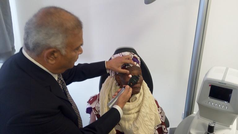 Olam lance une vaste opération médicale ophtalmologique à Libreville