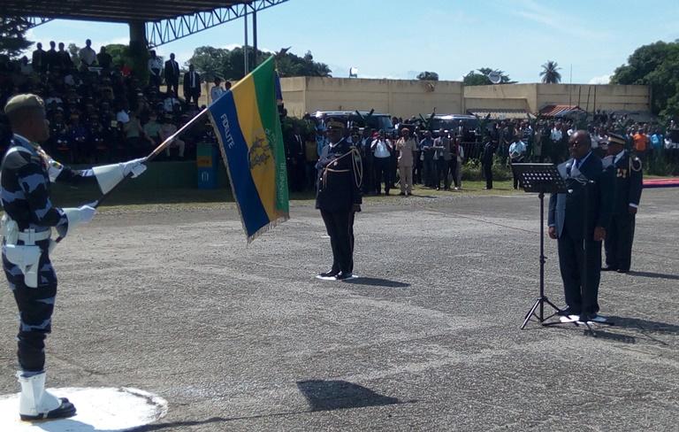 Le général Marcel Yves Mapangou Moussadji prend les commandes  des Forces de  Police Nationale