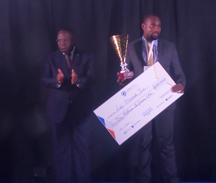 Entreprenariat : Andy Boumah remporte le Grand Prix d'excellence 2018