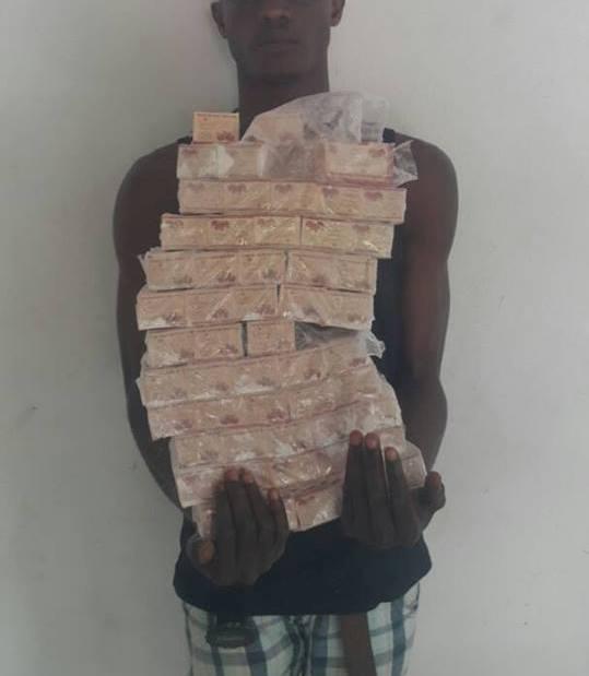 Un gabonais interpellé avec 10000 comprimés de Cobolo à Oyem