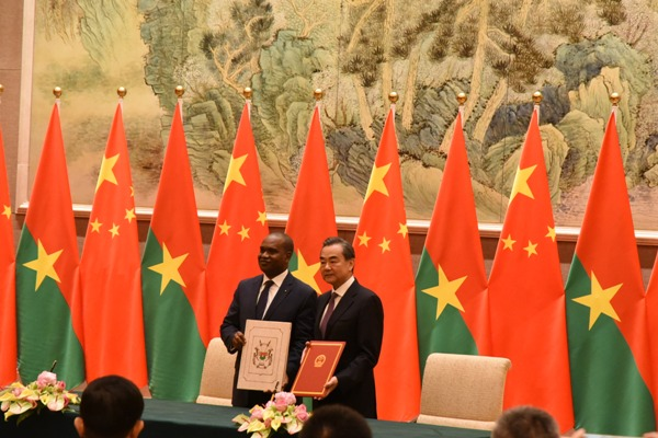 Alpha Barry l'officiel burkinabé qui a rétabli les relations avec la Chine