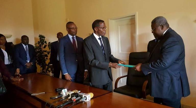 Présidence du CGE : Passation des charges entre Aboghé Ella et Bibalou Koumba