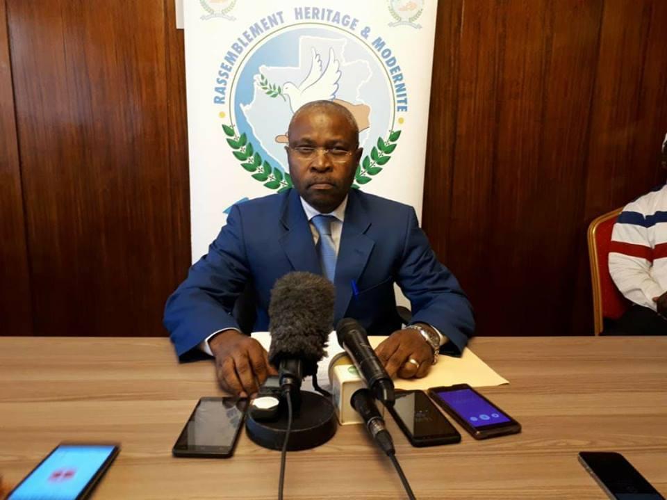 Michel Menga M'Essone suspendu de ses fonctions de SG de RHM