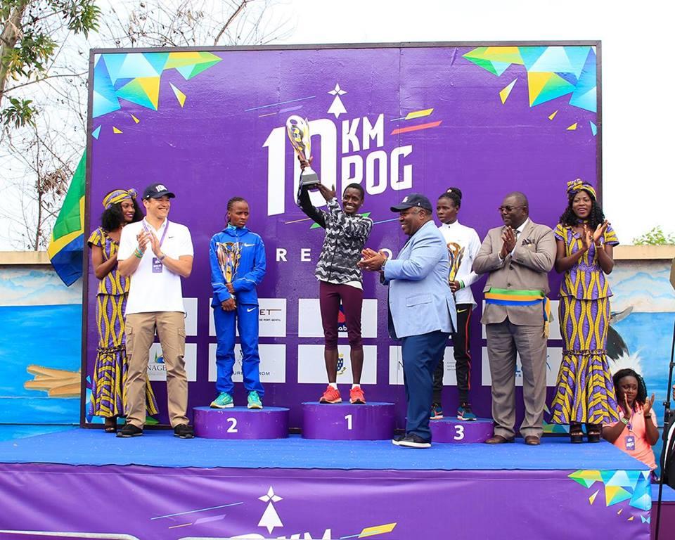 Athlétisme: aucun gabonais sur le podium du 10 km POG