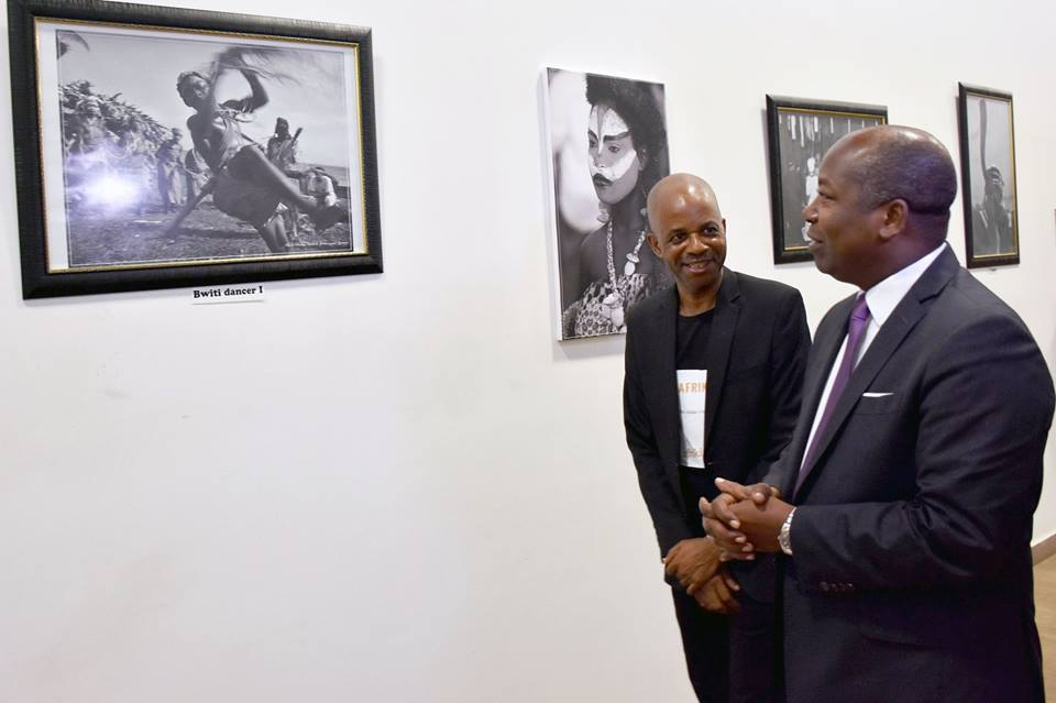 «Esprit du Bwiti», une agréable exposition photos dans une résidence des personnes souffrant d'un cancer