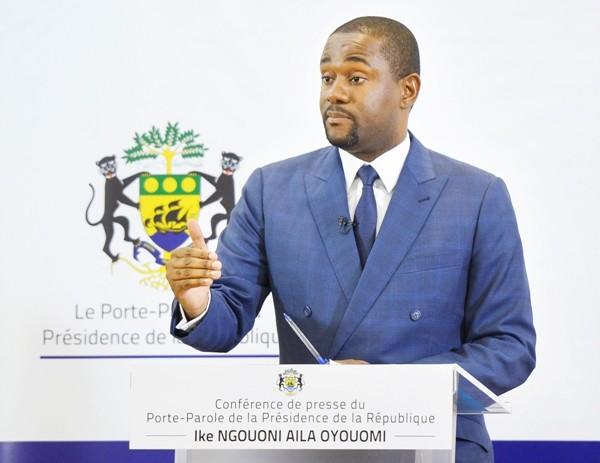 Ike Ngouoni donne une conférence de presse ce mardi à Libreville