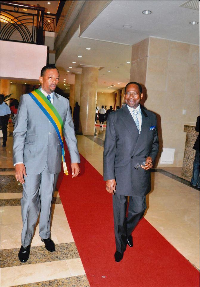Edgard Anicet Mboumbou Miyakou talentueux dribbleur comme son père