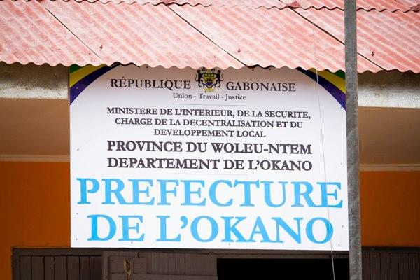 L'ONG Gabon 2025 rénove la Préfecture de l'Okano