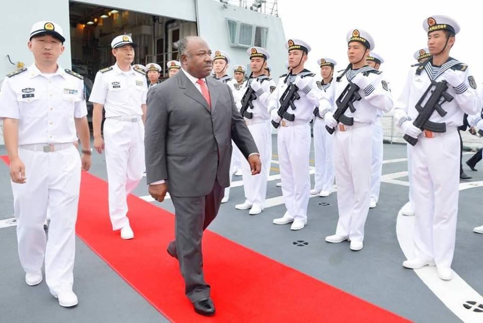 Après les français et les américains, l'armée chinoise mouille au large des côtes gabonaises