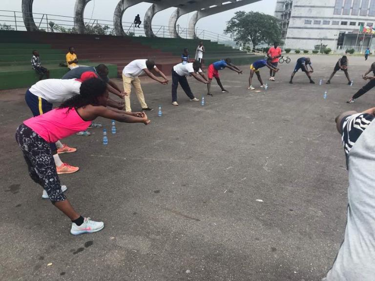 10 km de Masuku: La mise en jambes des athlètes chaque weekend à Franceville