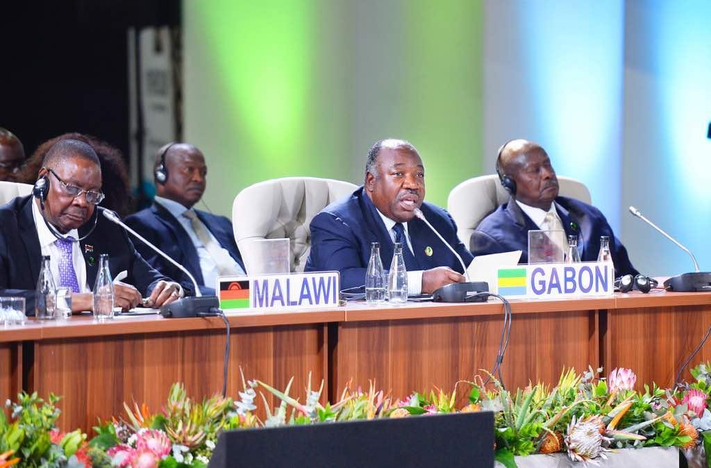 Ali Bongo appelle les pays du BRICS à soutenir le développement de l'Afrique