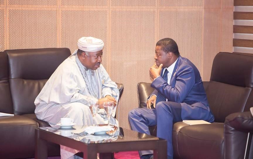 Nouvelle rencontre entre Ali Bongo et Faure Gnassingbé
