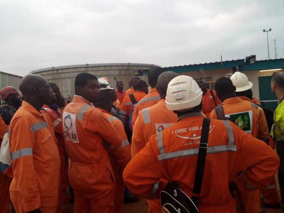 Grève chez Total Gabon: un succès selon l'ONEP