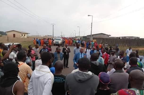 Grogne des populations de Gamba pour refuser le diktat du pétrolier Assala