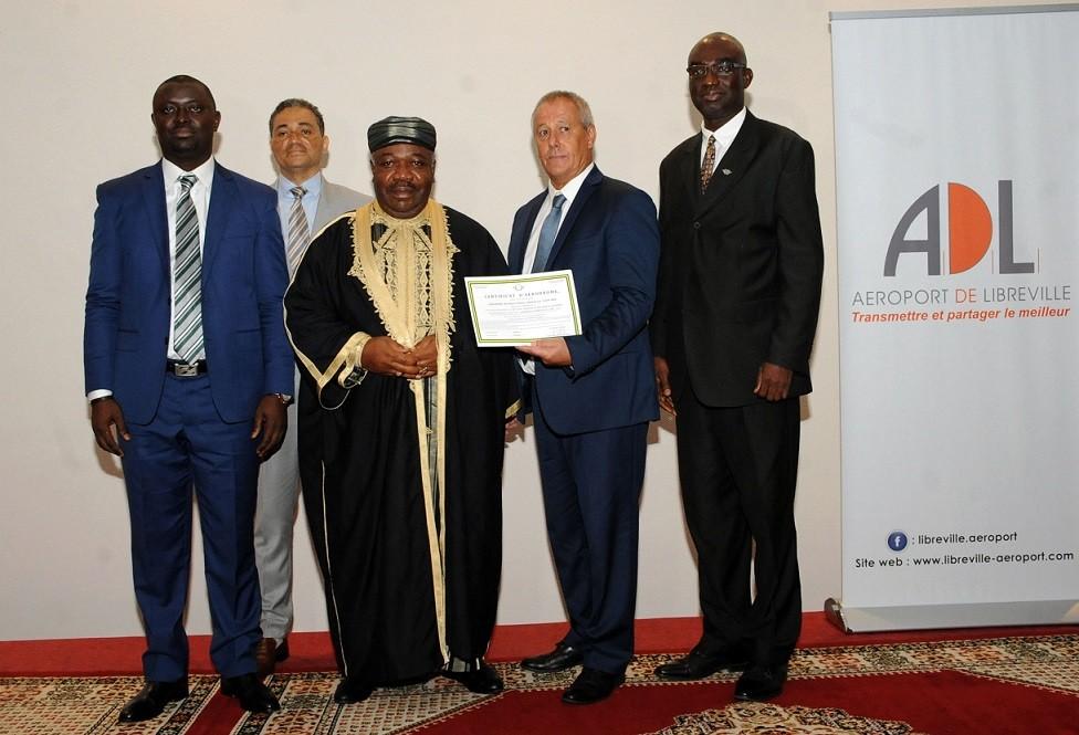 L'aéroport de Libreville certifié aux normes de sécurité et de sureté internationales