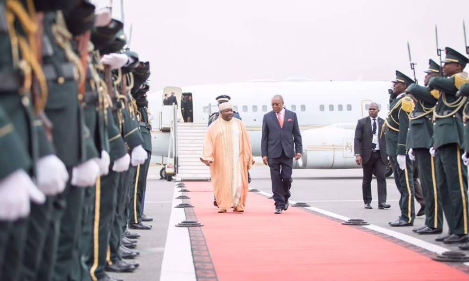 Ali Bongo Ondimba à Luanda pour un sommet sur la paix, la sécurité et la stabilité