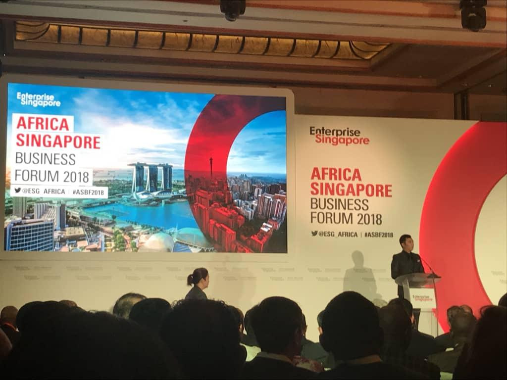 Africa Singapore Business Forum : le Gabon est au rendez-vous !