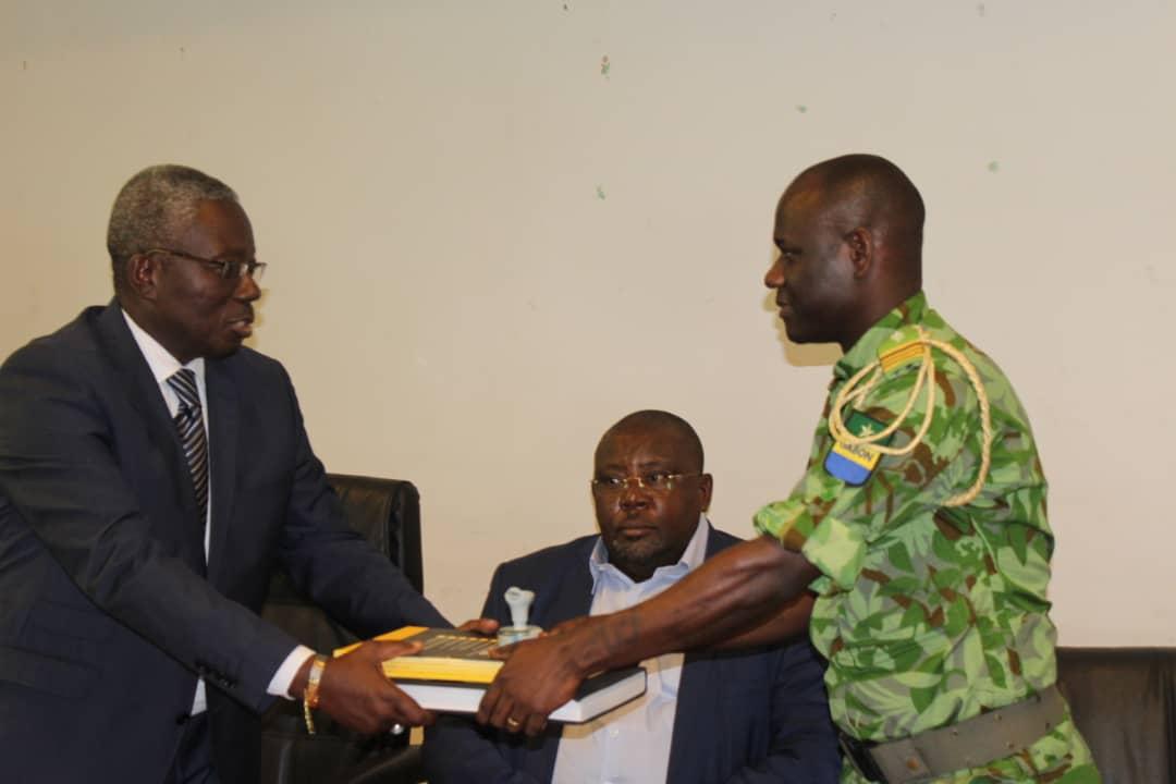 Le nouveau conservateur du parc des plateaux Batéké prend officiellement ses charges