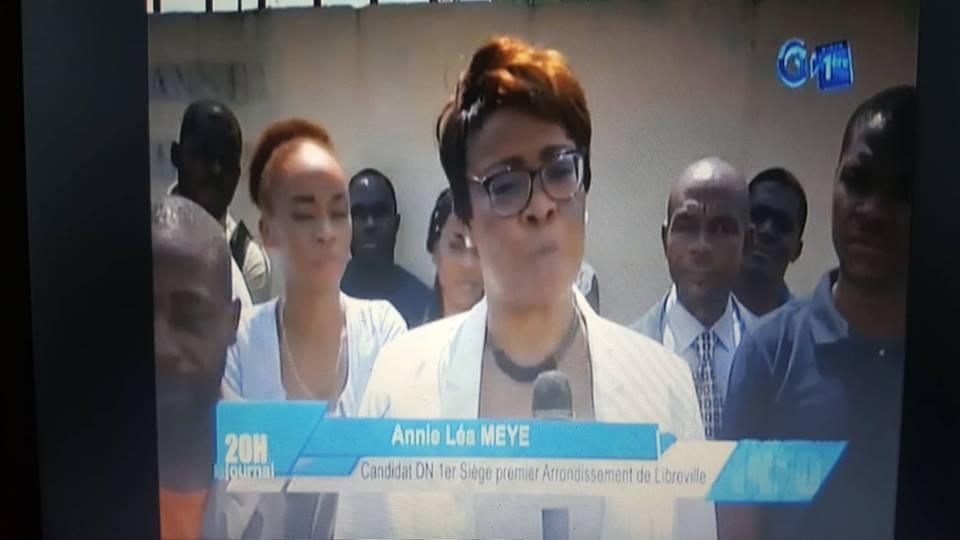Législatives 2018 : Annie Léa Meye candidate de Démocratie nouvelle