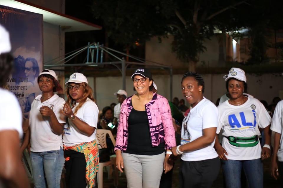 Législatives 2018 : Madeleine Edmée Berre transforme son QG en tribune d'expression pour les jeunes