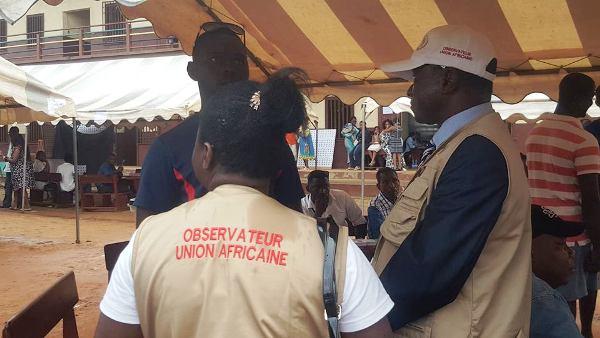 Législatives 2ème tour: les observateurs de l'Union africaine sur le terrain