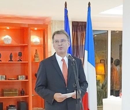 Grande déclaration d'amour du nouvel ambassadeur de France au Gabon